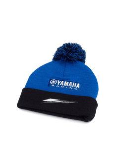 Yamaha Paddock Blue Pudelmütze Haube Mütze für Kinder
