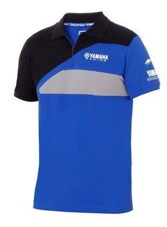 Yamaha Paddock Blue Racing Herren Polo T-Shirt Nara