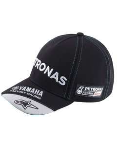 Yamaha Petronas Team Kinder Round Peak Baseball Cap