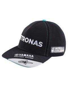 Yamaha Petronas Team Round Peak Flat Baseball Cap