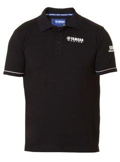 Yamaha Paddock Blue Herren Polo T-Shirt schwarz