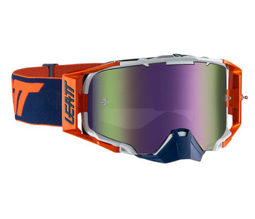 Leatt Brille Velocity 6.5 Iriz orange-ink verspiegelt