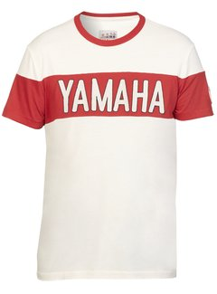 Yamaha Faster Sons Herren T-Shirt LUBBOCK creme