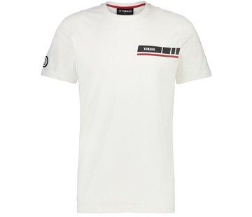 Yamaha Revs Herren T-Shirt Gladstone weiß
