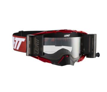 Leatt Brille Velocity 6.5 Roll-off red white clear 83%