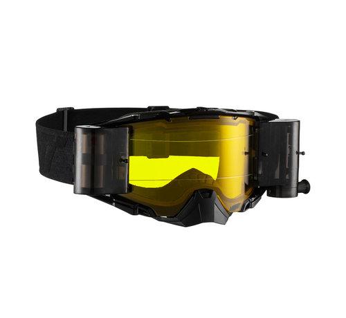 Leatt Brille Velocity 6.5 Roll-off schwarz grau 83%