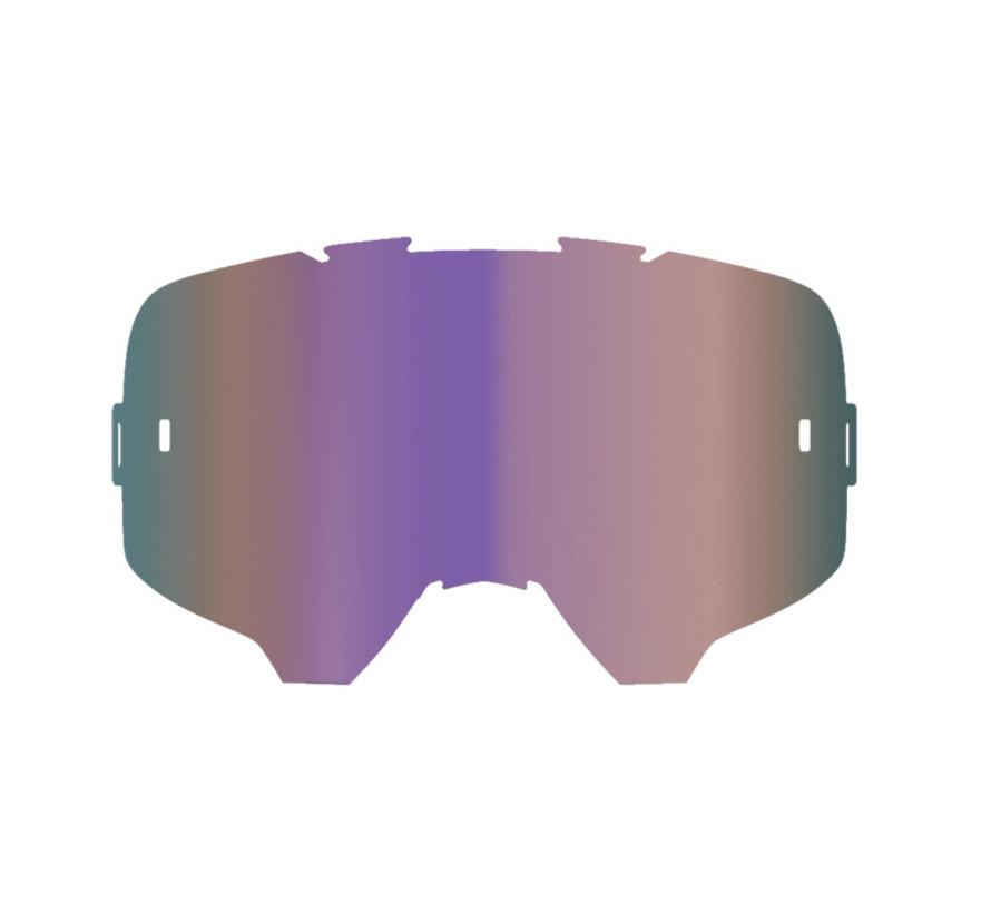 Linse Iriz purple verspiegelt 30% Lichtdurchlässigkeit