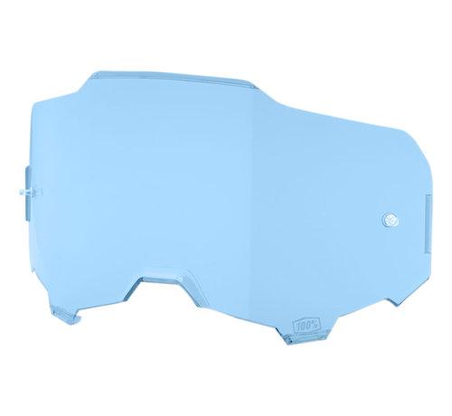 100 % Armega Glas - Ersatzglas Lens blau