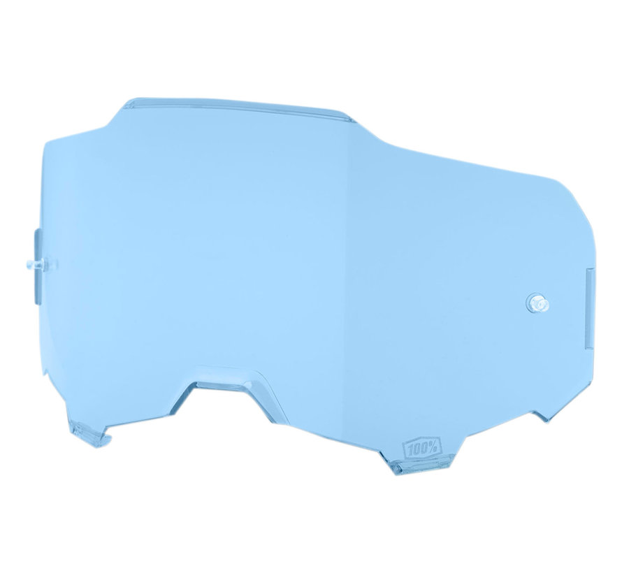 Armega Glas - Ersatzglas Lens blau