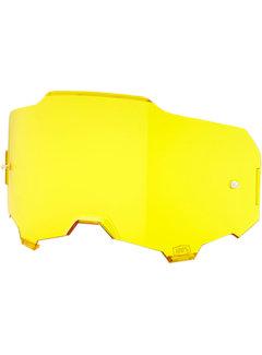 100 % Armega Glas - Ersatzglas Lens gelb