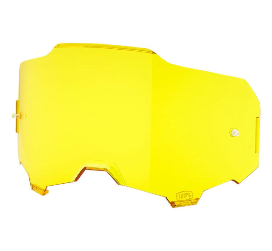 Armega Glas - Ersatzglas Lens gelb