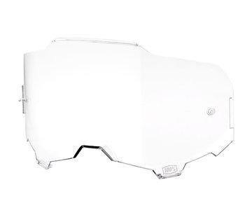100 % Armega Glas - Ersatzglas Lens clear