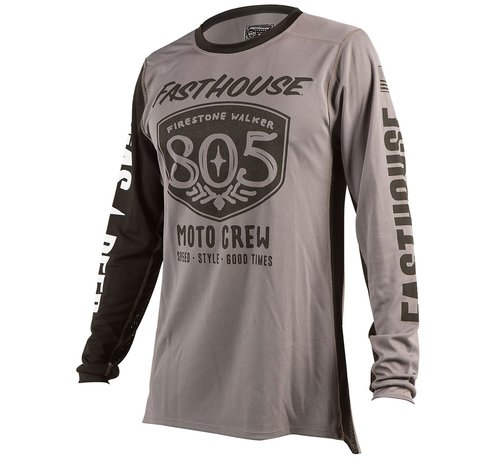 Fasthouse 805 Shield Jersey Grey