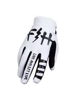 Fasthouse Handschuhe Speed Style Let Live Gloves white