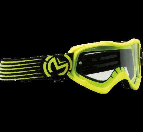 Moose Racing Qualifier™ Slash Kinderbrille neongelb