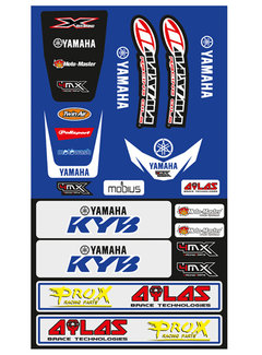 4MX Universal Fender Yamaha Sticker Set