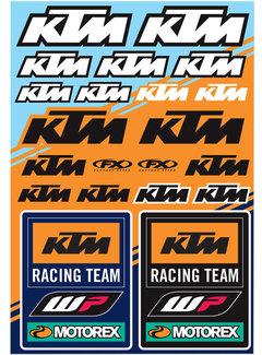 Factory Effex Universal Aufkleber-Bogen KTM - Racing