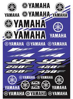 Factory Effex Universal Aufkleber-Bogen Yamaha