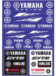 Factory Effex Universal Aufkleber-Bogen Yamaha - Racing