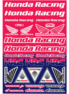 Factory Effex Universal Aufkleber-Bogen Honda - Racing