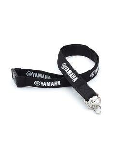 Yamaha Schlüsselanhänger Schlüsselband schwarz weiß