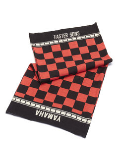 Yamaha Halstuch Bandana Faster Sons Neck Tube black/red