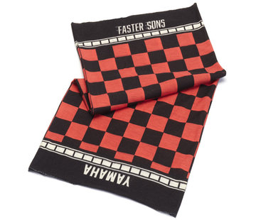 Yamaha Halstuch Bandana Faster Sons Neck Tube black/red