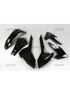 Ufo Plastikkit Husqvarna FE TE TX 125 150 250 300 Bj. 17-19 schwarz