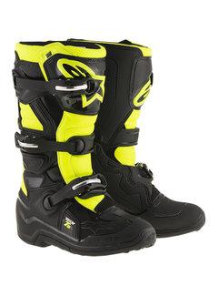 Alpinestars Stiefel Tech 7 S Jugensstiefel schwarz gelb