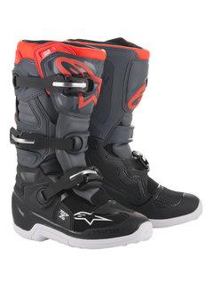 Alpinestars Stiefel Tech 7 S Jugensstiefel schwarz grau rot