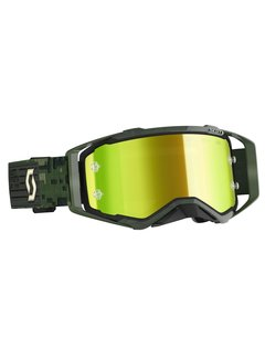 Scott MX Brille Prospect 2020 kaki green / yellow chrome works