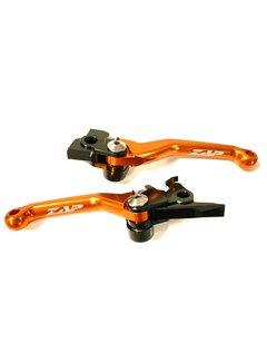 Zap Technix Competition Klapphebelsatz KTM BREMBO / BREMBO -13  orange