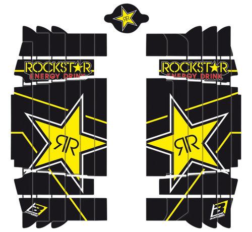 Blackbird Kühlerschutz - Radiator Guard - Sticker Rockstar für Husqvarna