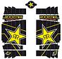 Kühlerschutz - Radiator Guard - Sticker Rockstar für Husqvarna