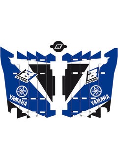 Blackbird Kühlerschutz - Radiator Guard Dream 3 - Sticker für Yamaha YZ125 YZ250 Bj. 02-19