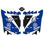 Kühlerschutz - Radiator Guard Dream 3 - Sticker für Yamaha YZ125 YZ250 Bj. 02-19