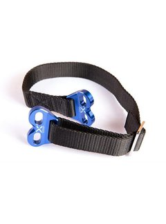 X-Grip Lifting Strap Trage Gurt Bergegurt Hebeband blau XG-2145