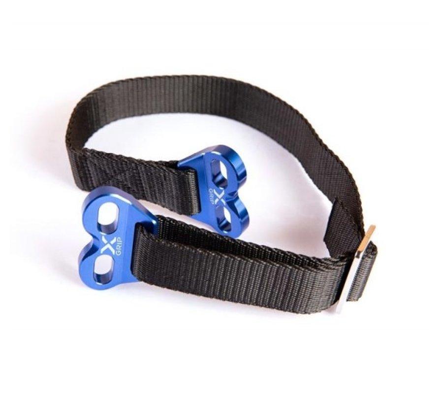 Lifting Strap Trage Gurt Bergegurt Hebeband blau XG-2145