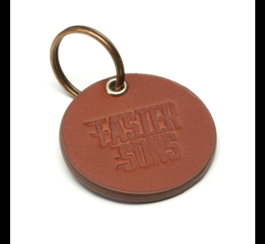 Schlüsselanhänger FS Faster Sons Leder