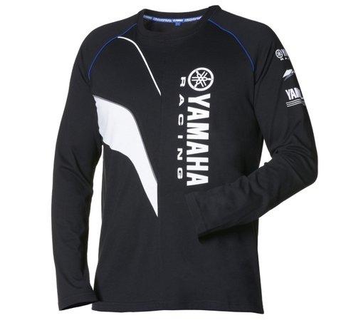 Yamaha Paddock Blue M16 Herren Langarm T-Shirt Größe XL