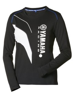Yamaha Paddock Blue M16 Damen Langarm T-Shirt