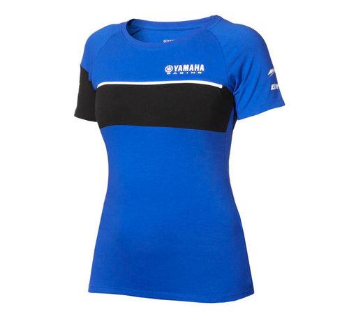 Yamaha Paddock Blue T-Shirt für Damen