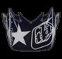 Ersatz Helmschild SE4 VISOR (CM) FREEDOM BLUE