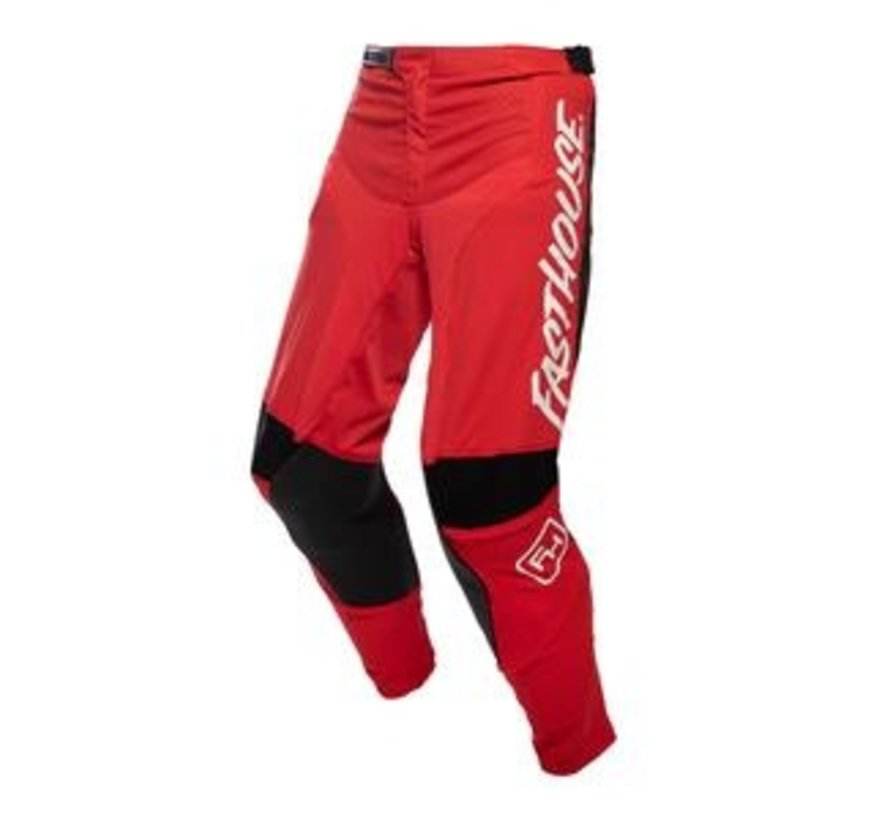 Speed Style Raven Pant red white