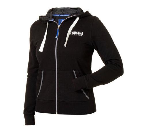 Yamaha Paddock Blue Hoody schwarz für Damen