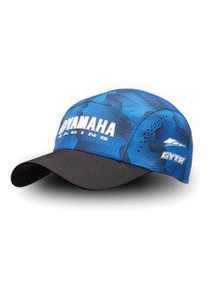 Yamaha Paddock Blue Cap Schirmmütze Camo für Erwachsene