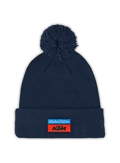 Troy Lee Designs 2020 Bommel Beanie Haube Team KTM navy