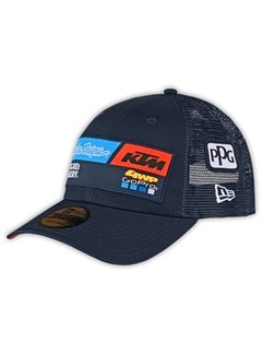 Troy Lee Designs 2020 Snapback Curve Hat Cap Team KTM navy