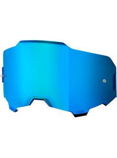 100 % Armega Glas - Ersatzglas Lens Mirror Blau | Verspiegelt