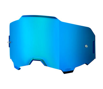 100 % Armega Glas - Ersatzglas Lens Mirror Blau   Verspiegelt